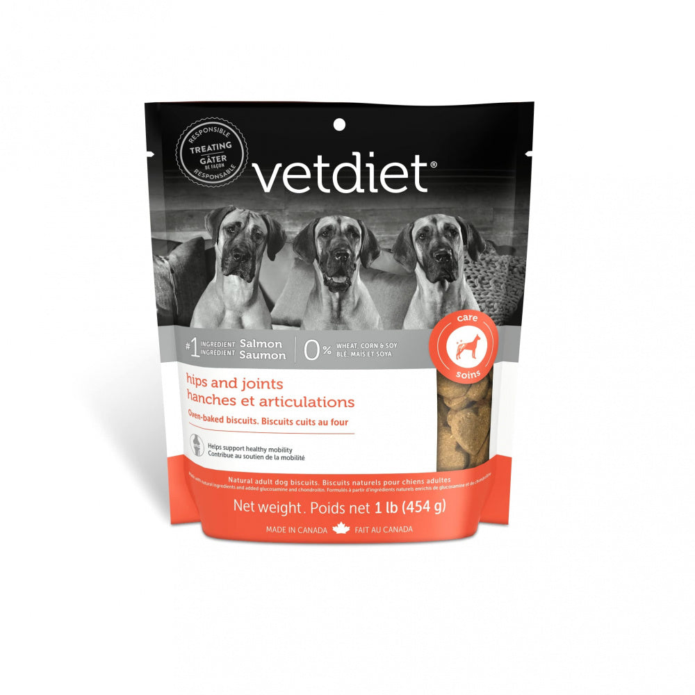 Vetdiet Hips & Joints Salmon Dog Biscuits