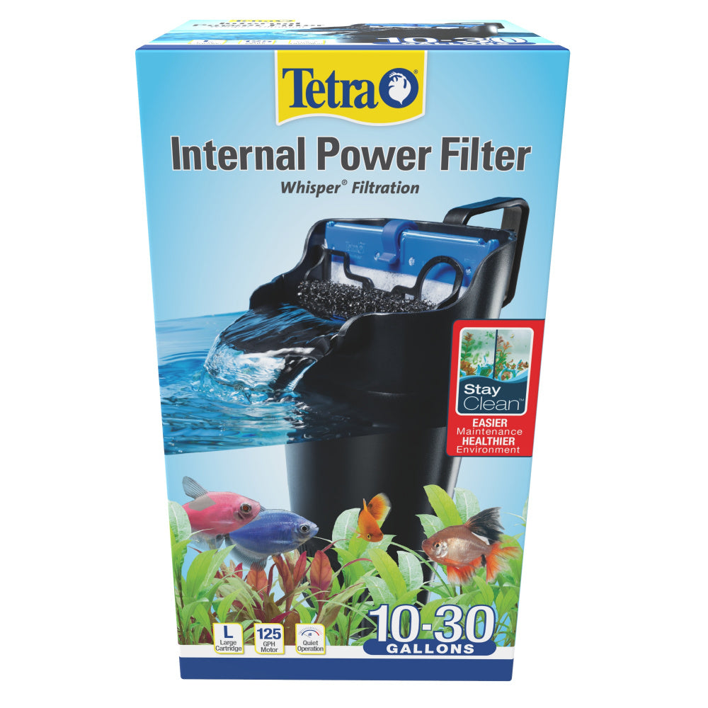Tetra Whisper 10-30 Internal Submersible Water Filter