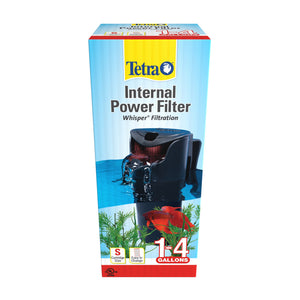 Tetra Whisper 4 Gallon Internal Submersible Water Filter