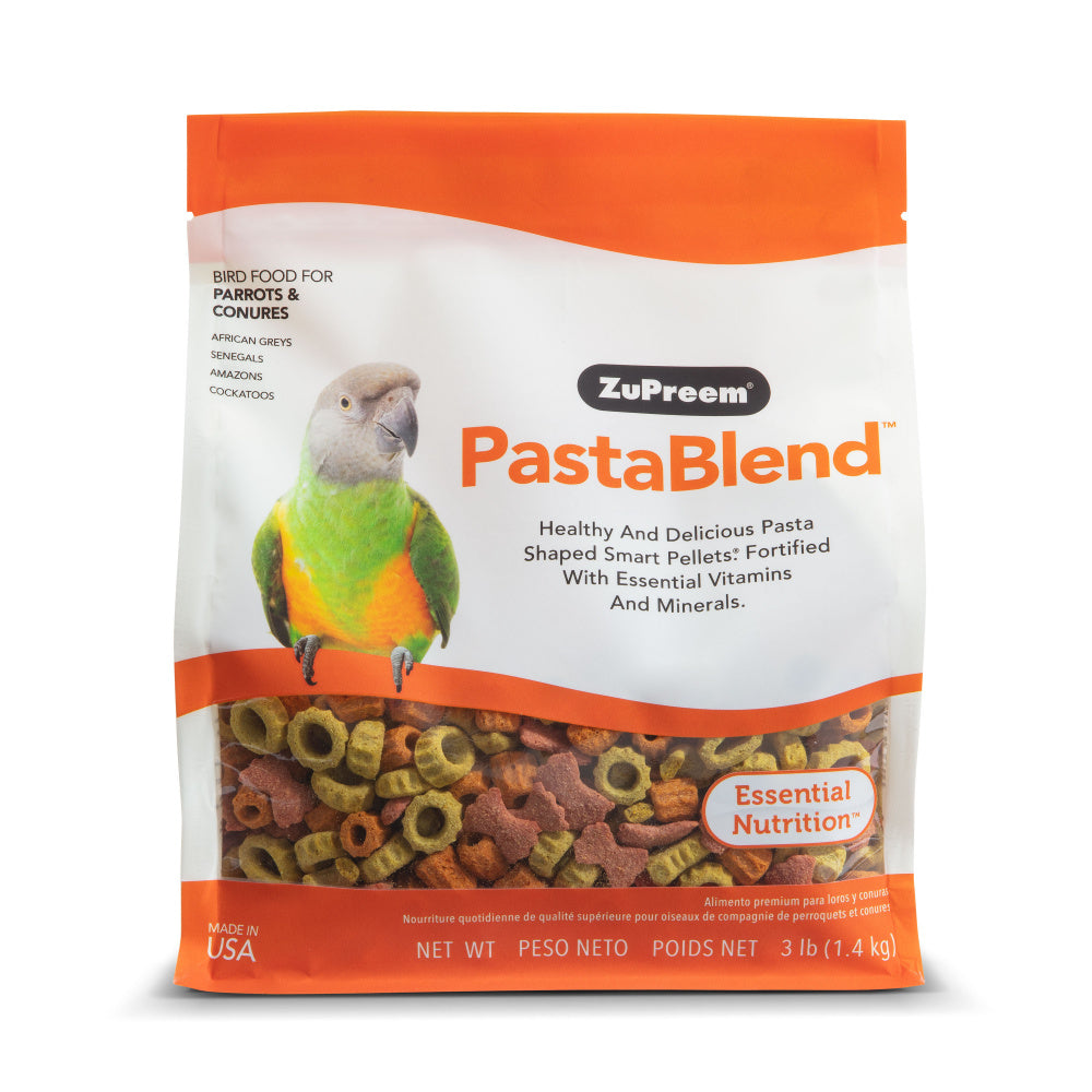 Zupreem PastaBlend Food for Parrots and Conures