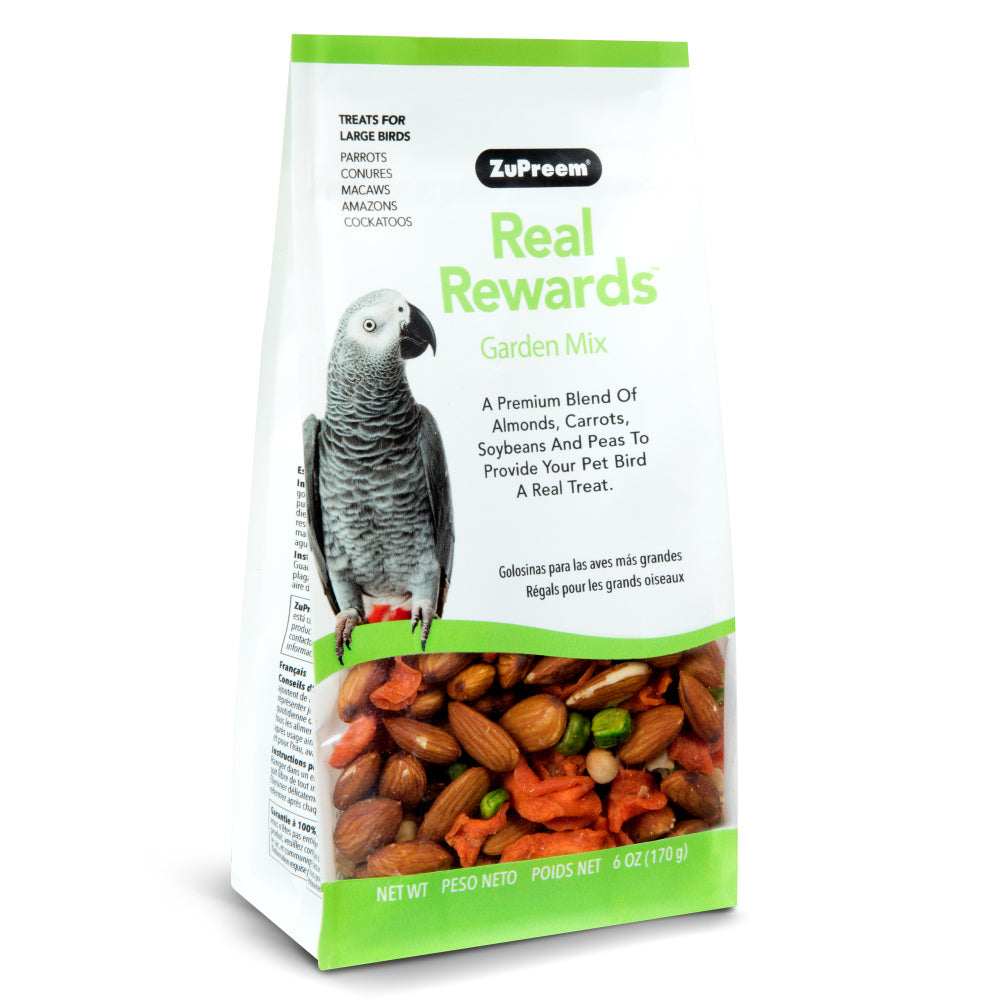 Zupreem Real Rewards Garden Mix Treat for Parrots and Conures