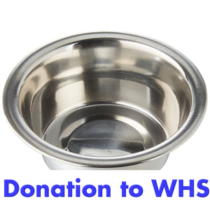 DONATE a Food/Water Bowl to the Wisconsin Humane Society!