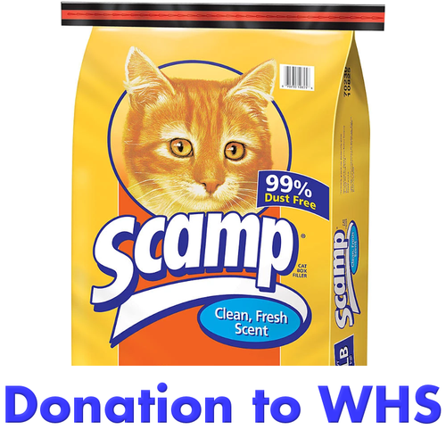 DONATE a Bag of Cat Litter to a Cat in Need!