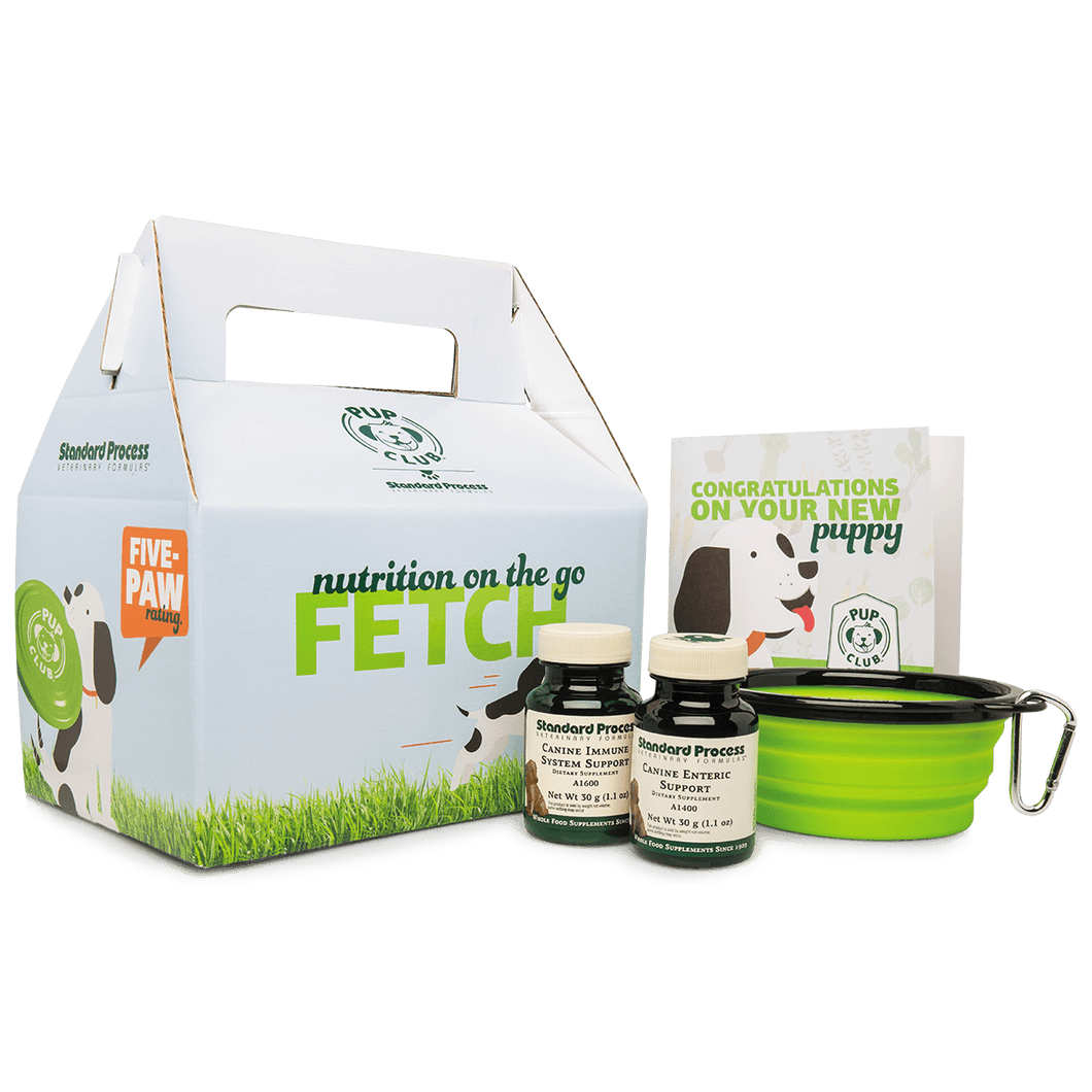 Pup Club Starter Pack With Small Immune System Support and Enteric Support, Small Canine Immune and Enteric Support