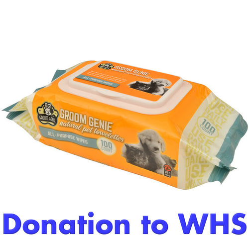 DONATE Grooming Wipes to the Wisconsin Humane Society!