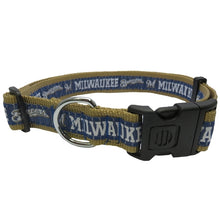 Load image into Gallery viewer, Pets First® Milwaukee Brewers Dog Collar