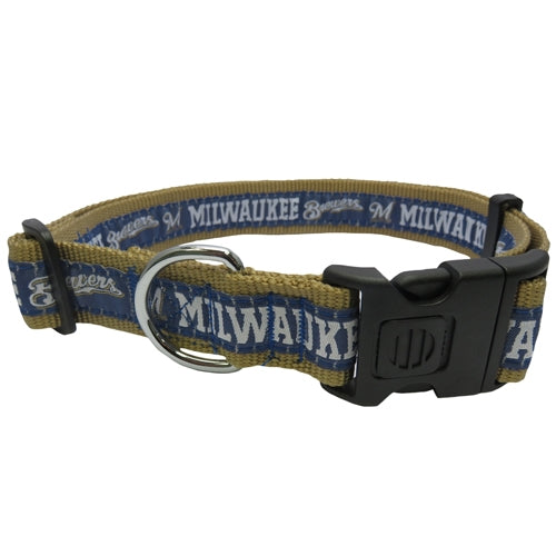 Pets First® Milwaukee Brewers Dog Collar