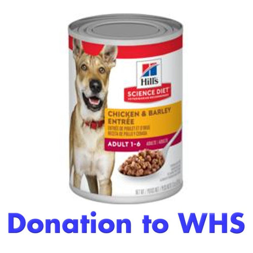 DONATE a Case of Canned Dog Food to a Dog in Need!