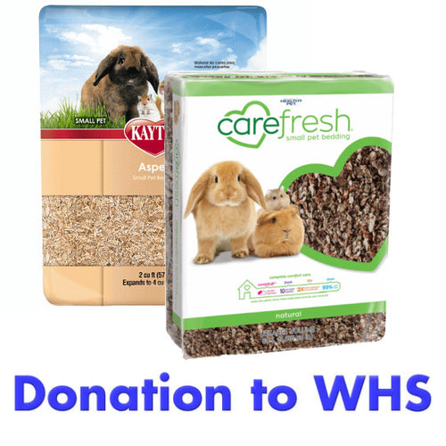 DONATE Small Animal Bedding to the Wisconsin Humane Society!