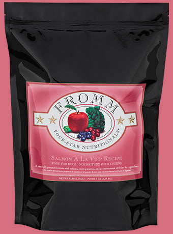 Fromm® Salmon A La Veg Four-Star Dog Food - LOCAL PICKUP ONLY