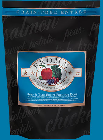 Fromm® Surf & Turf Four-Star Grain-Free Dog Food - LOCAL PICKUP ONLY