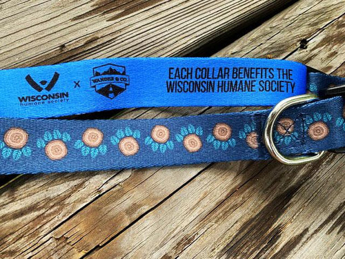 Wander & Co. Woodland Paw Collar