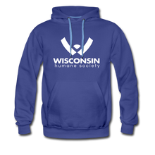 Load image into Gallery viewer, WHS Logo Premium Hoodie - royalblue