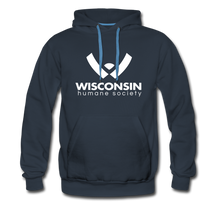 Load image into Gallery viewer, WHS Logo Premium Hoodie - navy