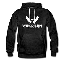 Load image into Gallery viewer, WHS Logo Premium Hoodie - charcoal gray
