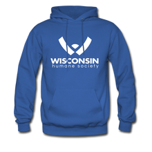 Load image into Gallery viewer, WHS Logo Classic Hoodie - royal blue