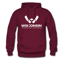 Load image into Gallery viewer, WHS Logo Classic Hoodie - burgundy