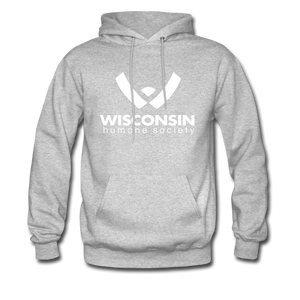 WHS Logo Classic Hoodie - heather gray