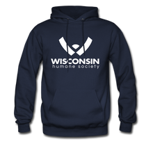 Load image into Gallery viewer, WHS Logo Classic Hoodie - navy
