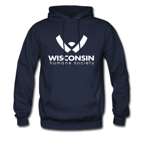 WHS Logo Classic Hoodie - navy