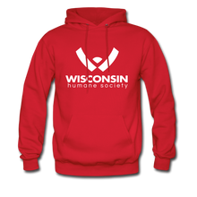 Load image into Gallery viewer, WHS Logo Classic Hoodie - red