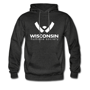 WHS Logo Classic Hoodie - charcoal gray