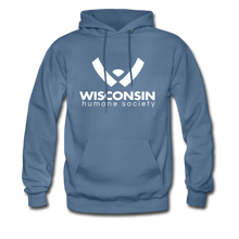 Load image into Gallery viewer, WHS Logo Classic Hoodie - denim blue