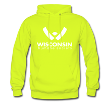 Load image into Gallery viewer, WHS Logo Classic Hoodie - safety green