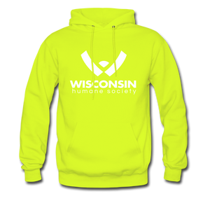 WHS Logo Classic Hoodie - safety green