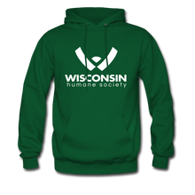 Load image into Gallery viewer, WHS Logo Classic Hoodie - forest green