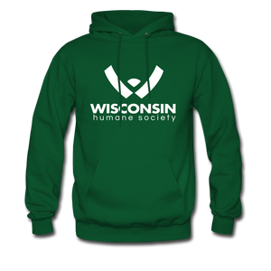 WHS Logo Classic Hoodie - forest green