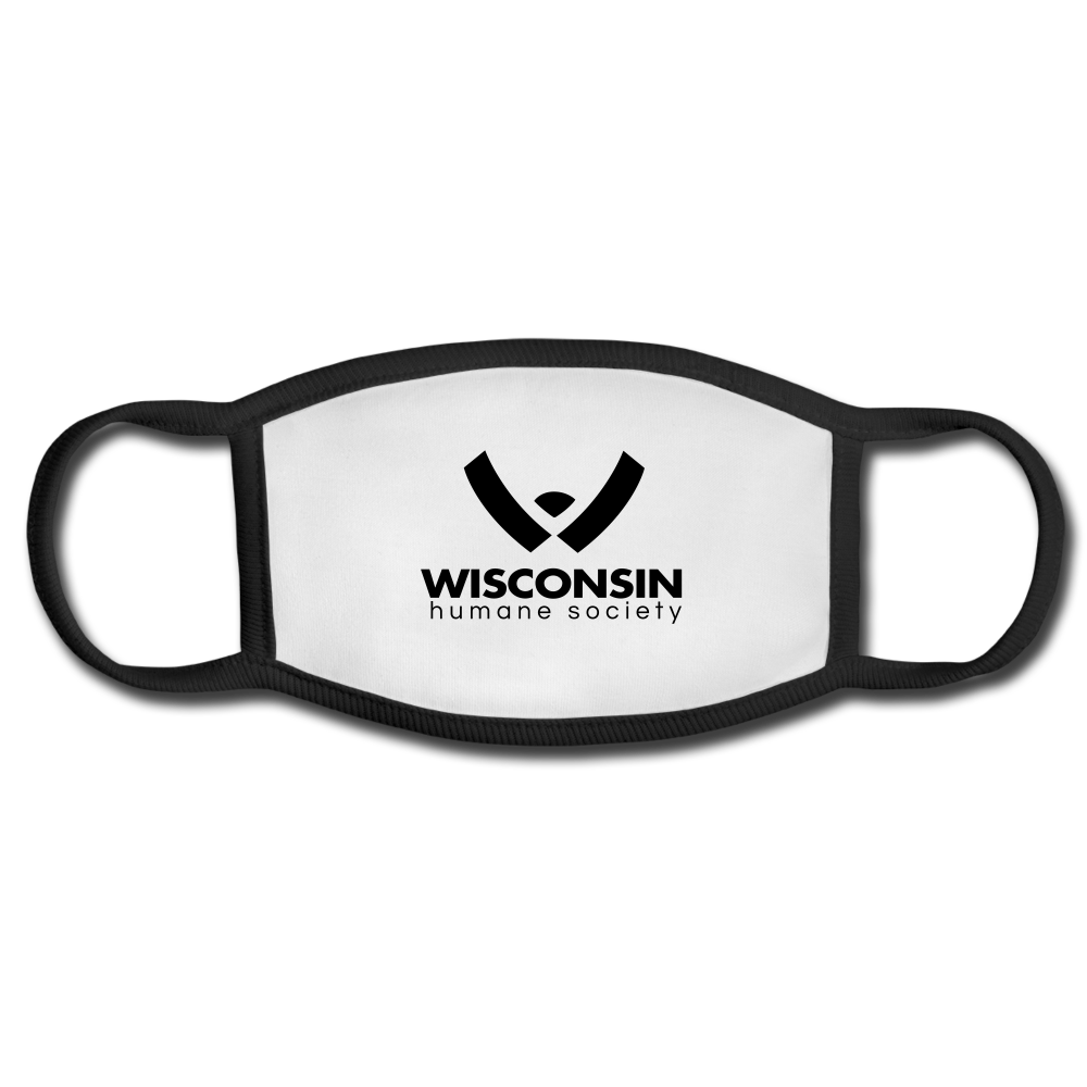 WHS Logo Face Mask - white/black