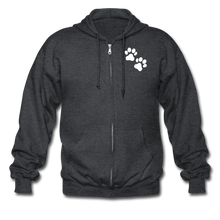 Load image into Gallery viewer, WHS Logo Heavy Blend Adult Zip Hoodie - deep heather