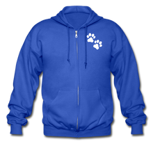 Load image into Gallery viewer, WHS Logo Heavy Blend Adult Zip Hoodie - royal blue