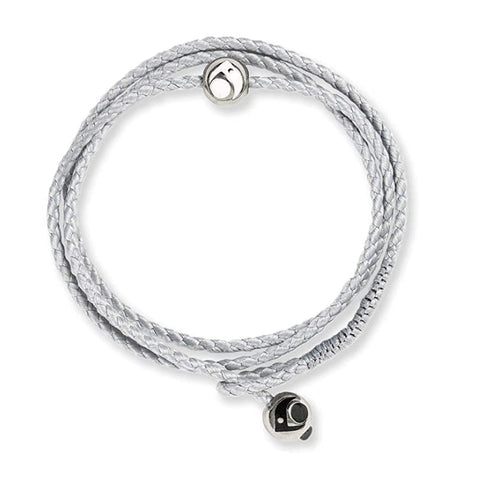 Silver Bracelet triple wrap for women