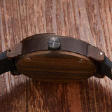 Handmade Analog wooden watch for men