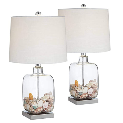 Sea shells table lamps