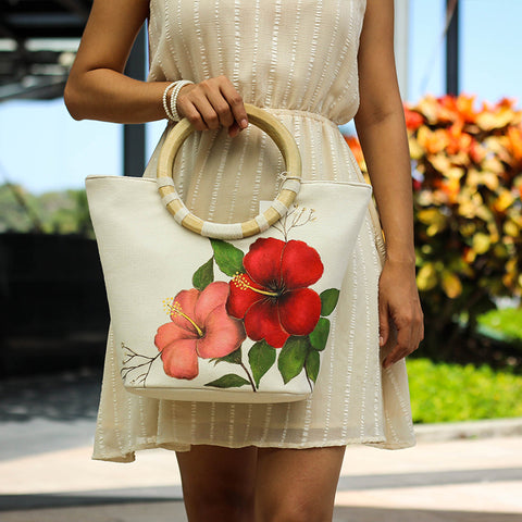 Floral Collection Large Bag