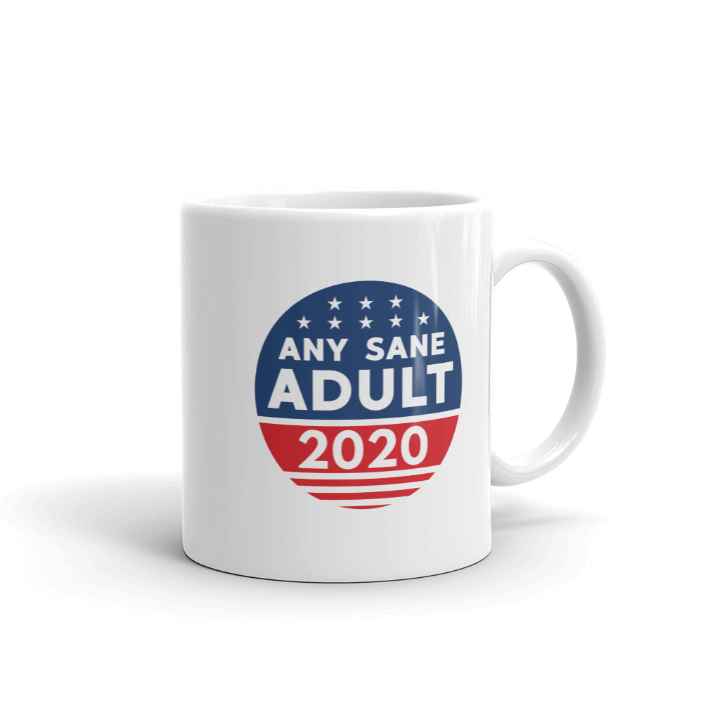 Any Sane Adult 2020 Logo Mug - Any Sane Adult 2020