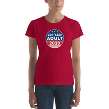 Load image into Gallery viewer, Women's Any Sane Adult 2020 Logo Short Sleeve T-shirt - Any Sane Adult 2020