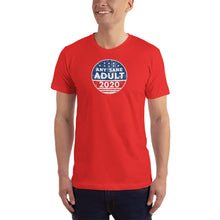 Load image into Gallery viewer, Men's Any Sane Adult 2020 Vintage Logo T-Shirt - Made in the USA - Any Sane Adult 2020