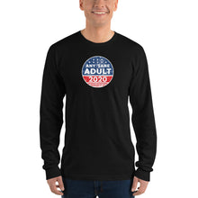 Load image into Gallery viewer, Unisex Any Sane Adult Distressed Long sleeve t-shirt - Made in the USA - Any Sane Adult 2020