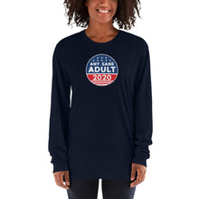 Load image into Gallery viewer, Unisex Any Sane Adult 2020 Logo Long sleeve t-shirt - Made in the USA - Any Sane Adult 2020