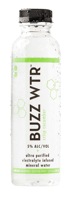BUZZ WTR Crisp Cucumber 24 Pack