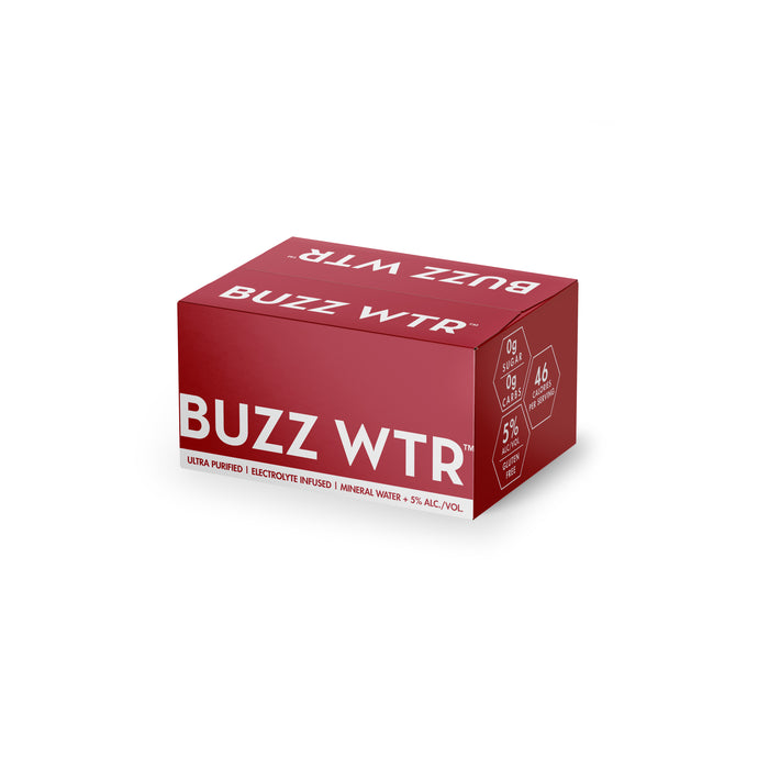 Buzz WTR Brisk Berry 500ml 24 pack
