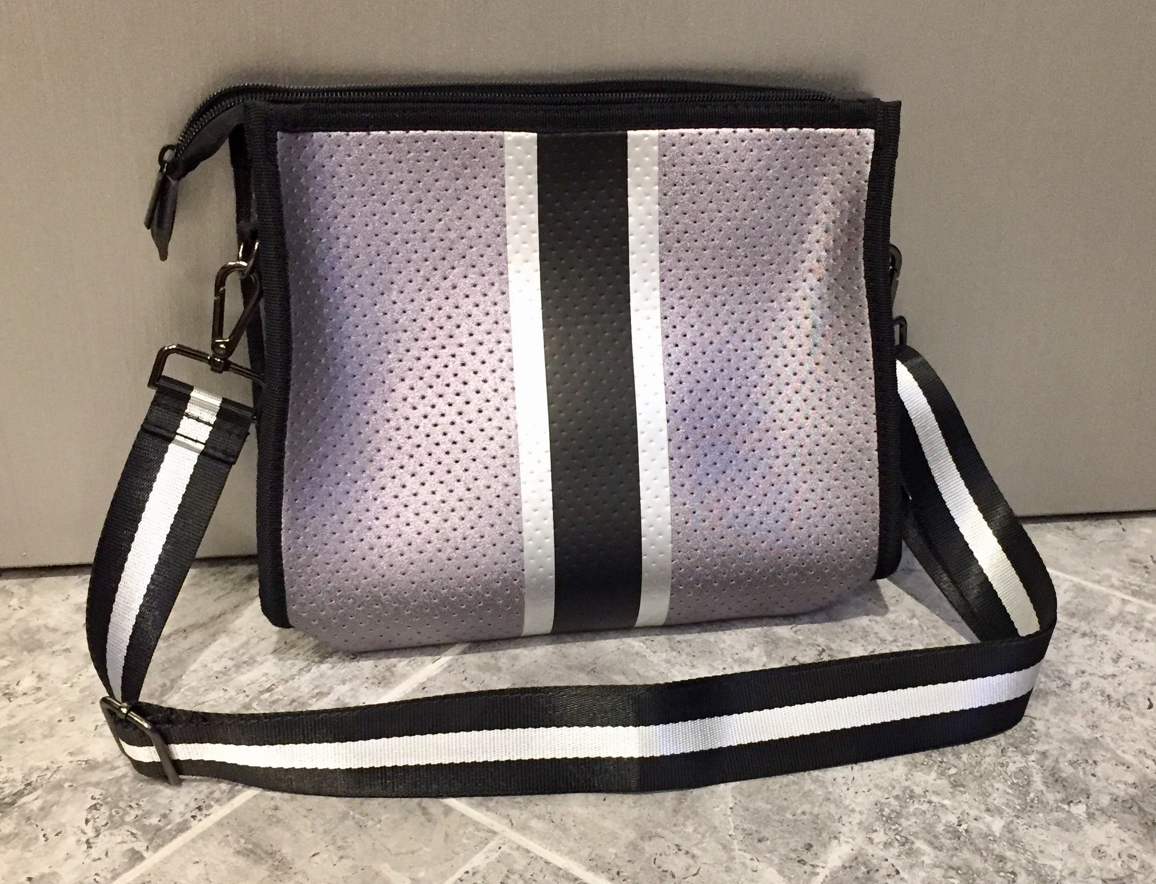 Neoprene shoulder/crossbody bag