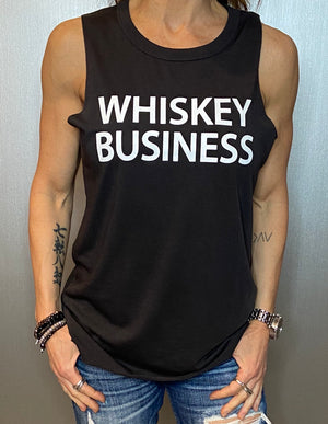 Whiskey business tank