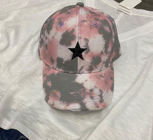 Camo/star baseball hat