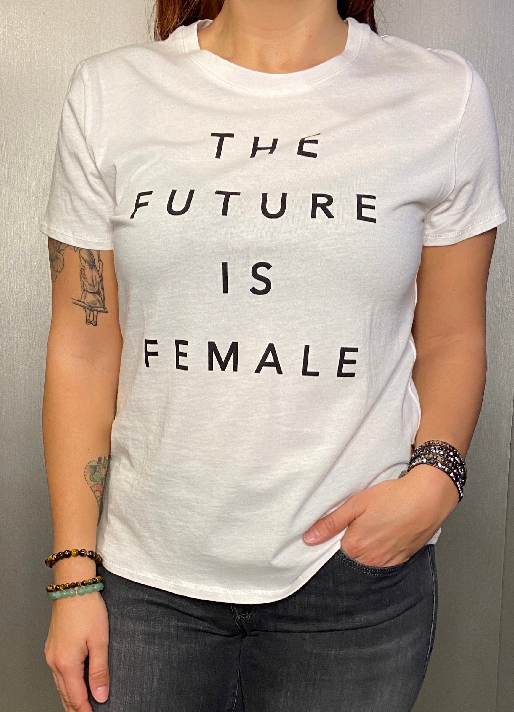 """The Future Is Female"" graphic tee"