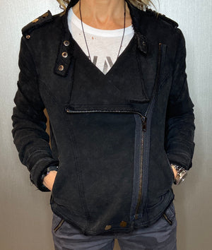 Cotton Moto jacket